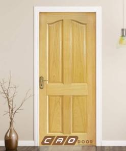 cửa gỗ công nghiệp hdf veneer 4a-ash