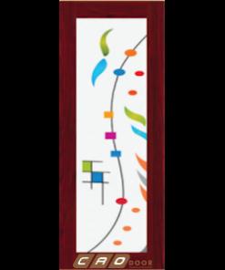 cửa nhựa đài loan ghép thanh yb-81