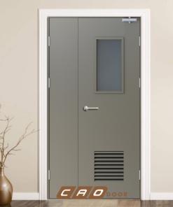 cửa thép chống cháy p2g1b1
