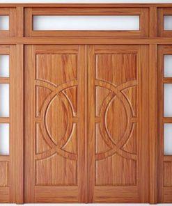 cửa gỗ tự nhiên mẫu 1