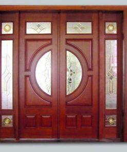cửa gỗ tự nhiên mẫu 2
