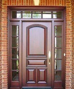 cửa gỗ tự nhiên mẫu 4