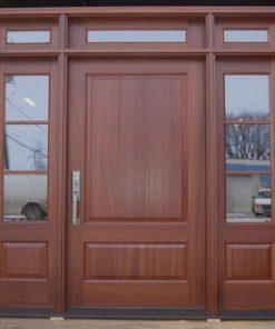 cửa gỗ tự nhiên mẫu 5