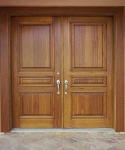 cửa gỗ tự nhiên mẫu 7