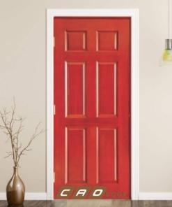 cửa gỗ công nghiệp hdf veneer 6a-camxe