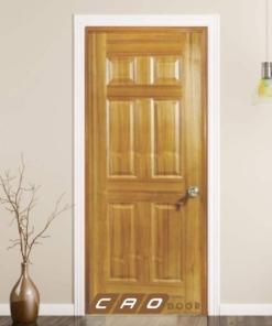 cửa gỗ công nghiệp hdf veneer 6a-teak