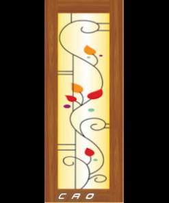 cửa nhựa đài loan ghép thanh yy-80