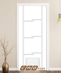 cửa nhựa gỗ composite sung yu sya-154