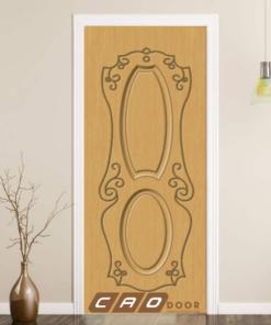 cửa nhựa gỗ composite sung yu sya-247