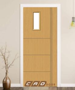 cửa nhựa gỗ composite sung yu sya-255