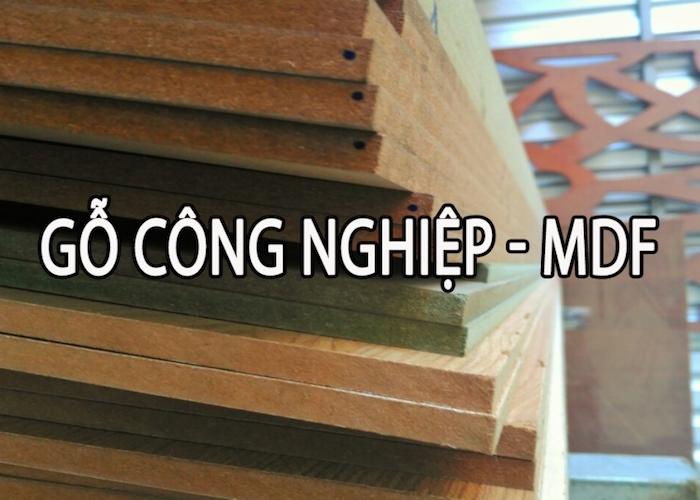 ván gỗ công nghiệp MDF