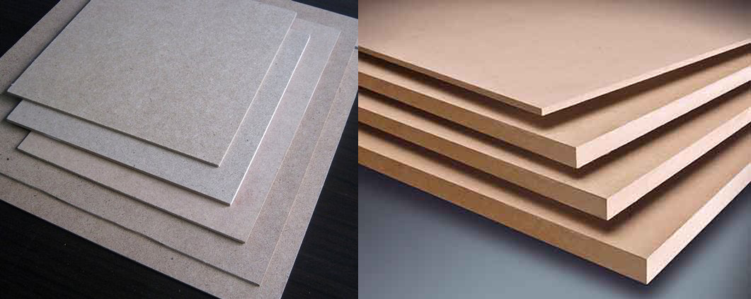 Màu ván gỗ HDF tuỳ thuộc vào nguyên liệu đầu vào
