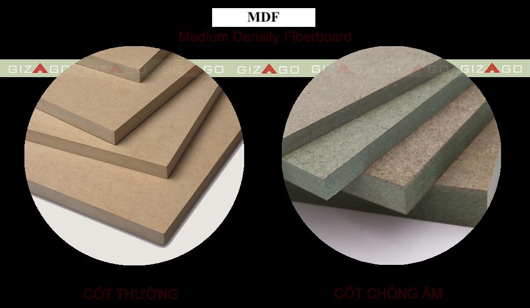 phân loại mdf thường và mdf chống ẩm