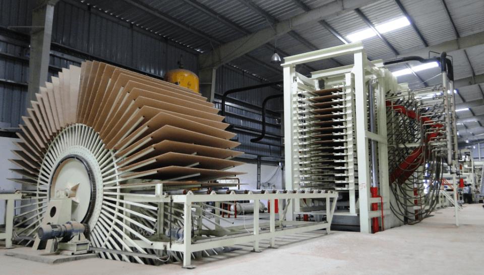 sản xuất gỗ công nghiệp MDF