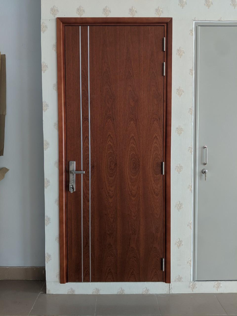 mẫu cửa gỗ chống cháy tại hóc môn